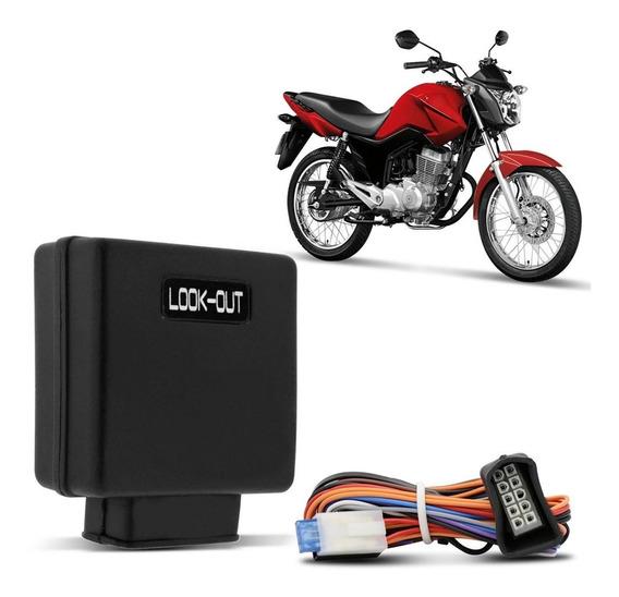 Bloqueador Look Out Moto 12v Anti-furto Função Manobrista