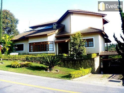 Casa A Venda Em Mogi Das Cruzes Condomínio Aruã De 3 Dorms - V295