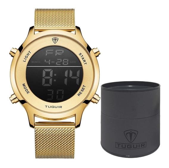 Relógio Feminino Tuguir Esportivo Digital Original Garantia