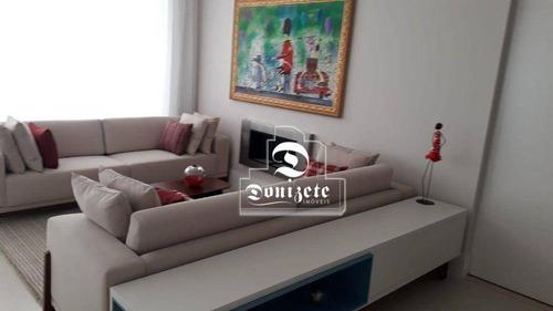 Imagem 1 de 29 de Apartamento Com 4 Dormitórios À Venda, 220 M² Por R$ 2.800.000,00 - Jardim - Santo André/sp - Ap17396