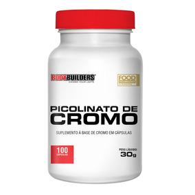 Emagrecedor Picolinato De Cromo 100cap