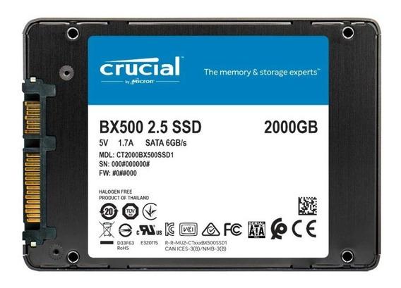 Ssd Crucial Bx500 2tb