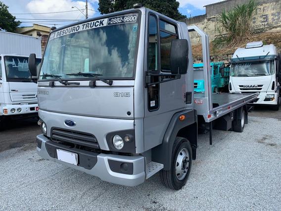 Ford Cargo 816 Reboque Prancha De 6m 17/18