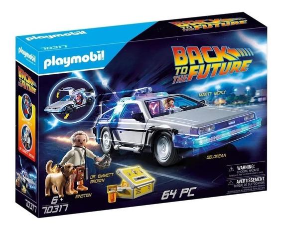 Playmobil De Volta Para O Futuro Delorean Time Machine