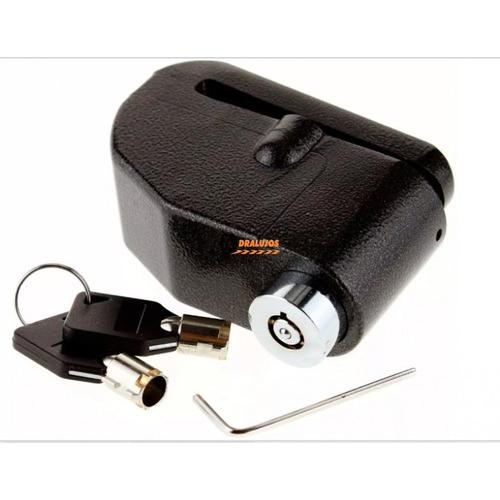 1 Candado Para Moto Freno De Disco Alarma Moto De 110db N