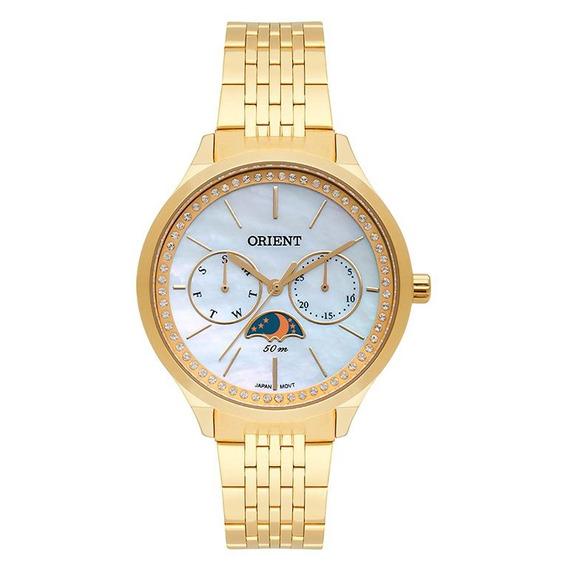 Relógio Orient Feminino Analógico Fgssm059 Dourado C/ Nf