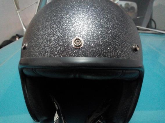 Capacete Aberto Modelo Bell 500 Metal Flake Tamanho 60