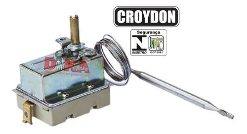 Termostato Regulador Chapa Churrasqueira Elétrica Croydon