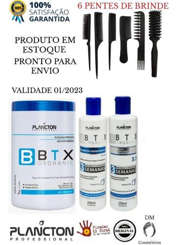 Btx Orghanic + Kit 3 Semanas + Brindes - Produto Em Estoque