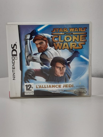 Star Wars The Clone Wars Alliance Jedi Nintendo Ds Usado Eur