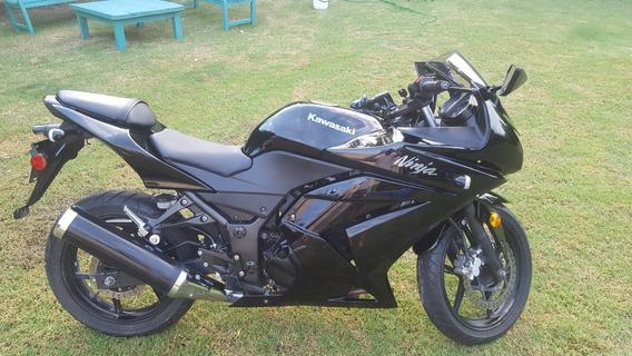 Kawasaki Ninja 250r Negra Impecable Único Dueño
