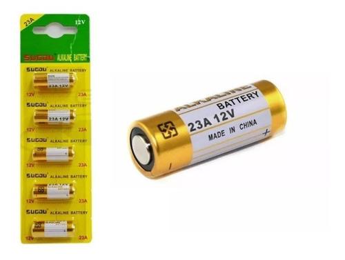 Imagen 1 de 7 de Pila Batería 23a N21 A21 Mn23 Vr22 L1028 12v Pack X5 Pilas