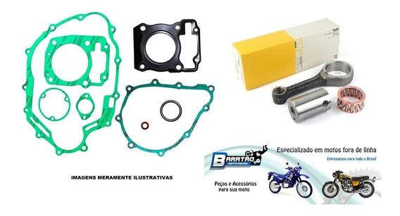 Biela Metal Leve + Jogo De Juntas Motor Xr 200 Cbx Strada Nx