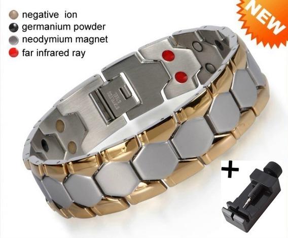 Pulseira Magnética Bioquântica, Equilíbrio + Saúde E Energia