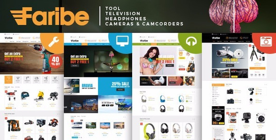 Template Faribe - Multi Purpose Opencart 3