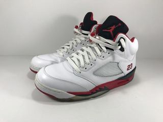 Jordan 5 Retro Fire Red Talla 9,5us Impecables
