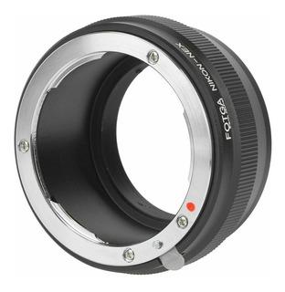 Adaptador Lentes Nikon G/cámaras Sony Nex Montura E A7 Ilse
