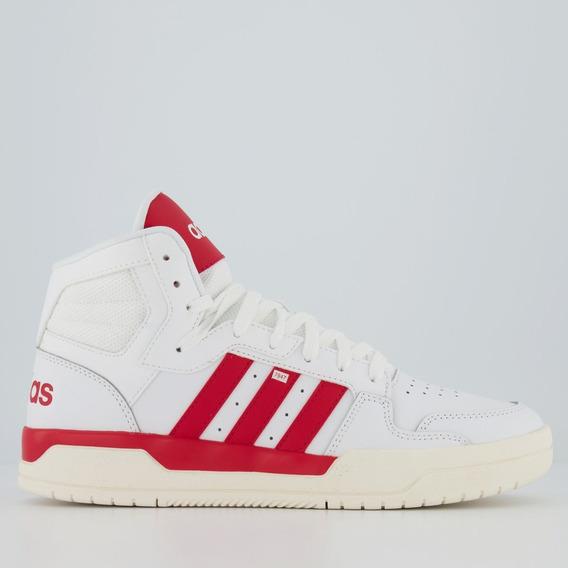 Tênis adidas Entrap Mid Branco E Vermelho