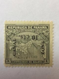 Sello Panamá Con Sobrecarga
