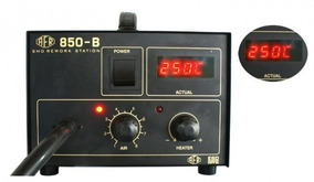 Estação Retrabalho Solda Digital Afr Max 850b 127v Envio Já!