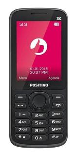 Positivo P30 Dual SIM 128 MB Preto 64 MB RAM