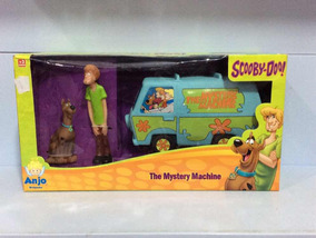 Scooby-doo The Mystery Machine Anjo Brinquedos Ref 2009