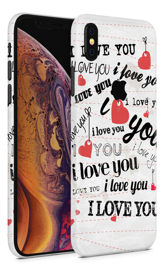 Skin Love You Letter Para Telefonos Apple iPhone