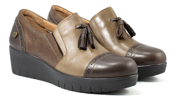 Zapatos Mujer Cavatini Vestir Super Comfort Cuero Vacuno