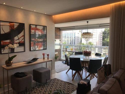 Imagem 1 de 30 de Apartamento Com 3 Dormitórios À Venda, 115 M² Por R$ 1.250.000,00 - Jardim - Santo André/sp - Ap12755