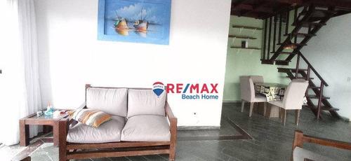 Imagem 1 de 30 de Cobertura Com 2 Dormitórios À Venda, 190 M² Por R$ 500.000,00 - Praia Da Enseada - Guarujá/sp - Co0230