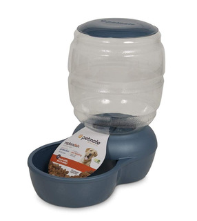 Petmate Replenish Pet Gravity Feeder With Microban, 18-pound