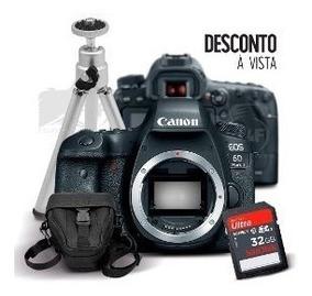 Câmera Canon Rebel T7 Corpo + 32gb + Bolsa+tripe