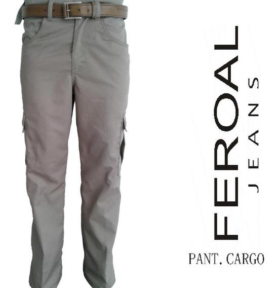 Pantalon Tipo Cargo Tallas Extras