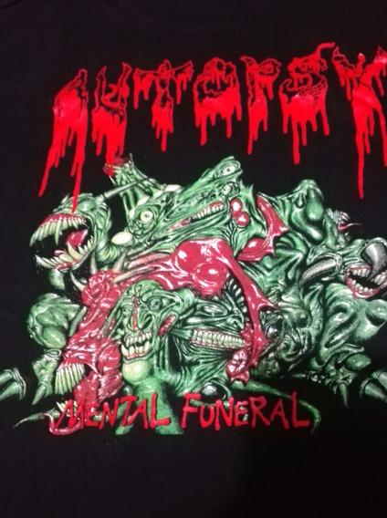 Autopsy - Mental Funeral Playera M