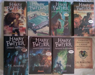 Harry Potter 7 Libros + Animales + Quidditch + Bard