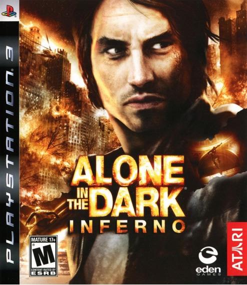 Jogo Alone In The Dark Inferno Ps3 Mídia Física Terror Aitd