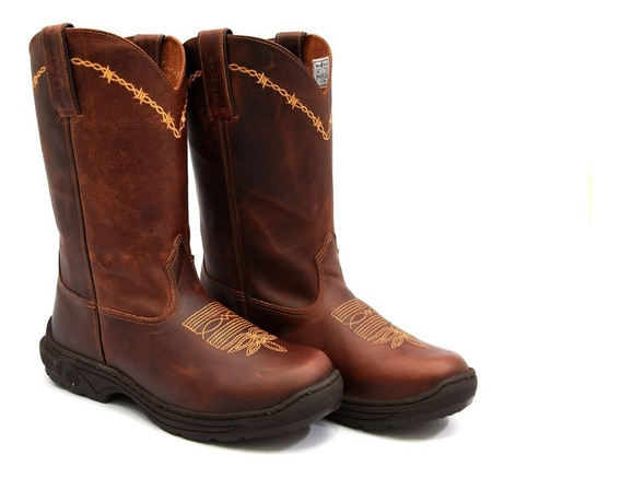 Bota Masculina Cano Alto Country Couro Legitimo Red Dust !!!