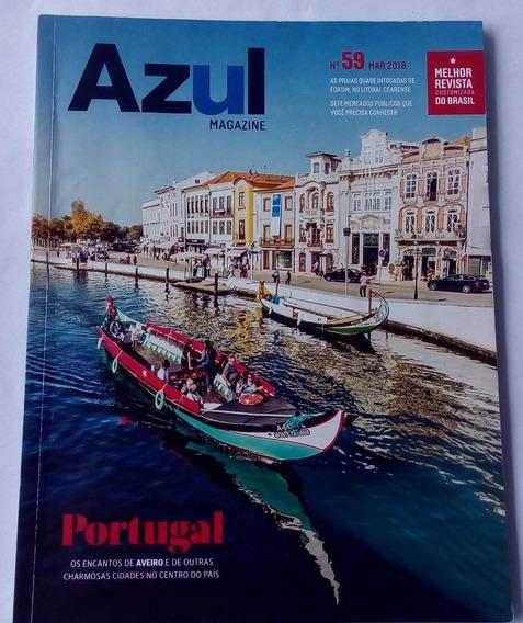 Azul Magazine. Portugal N° 59 Mar. 2018.
