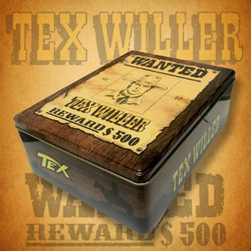 Tex Willer Wanted Box - Sbe - Bonellihq A19