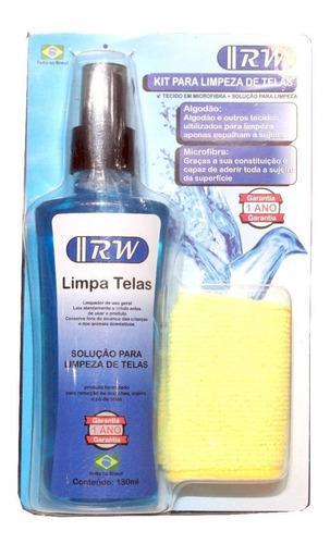 Kit Spray Limpa Telas Com 130 Ml + Tecido Em Microfibra