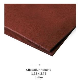 Placa Chapadur Habano 3mm 1,22 X 2,75 Embalajes - Maderwil