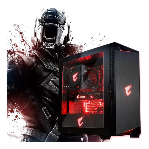 Pc Gamer Ryzen 5 2400g Gtx 1050 Ti 16gb Ddr4 Ssd 240 80plus