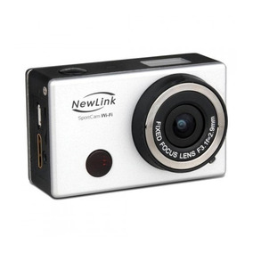Câmera Sport Cam Newlink Wi-fi A Prova D
