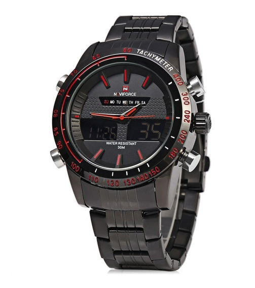 Relógio Masculino Naviforce Racer Esportivo Original Barato