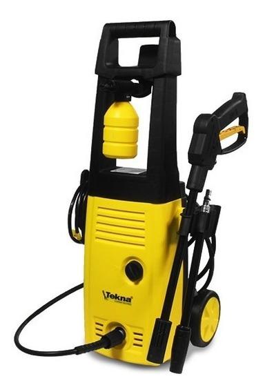 Lavadora Alta Pressão 1400w Rodas Alça Longa + Kit Lava Car Tekna 220v - Produto Novo Com Garantia E Nota Fiscal