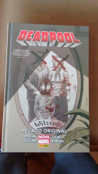 Deadpool. Pecado Original (português) Capa Dura