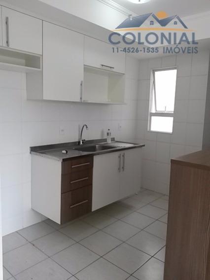 Apartamento, 03 Dormitórios, 01 Banheiro, 02 Vagas - Jardim Maria De Fátima, Várzea Paulista - Ap00644 - 4462842