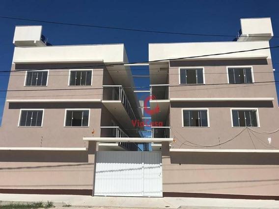 Apartamento, 2 Quartos, Peixe Dourado I - Barra De São João - Rj - Ap1320