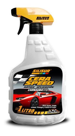Silisur Cera Speed Gatillo 1lt C/carnauba Wax Pack 6u
