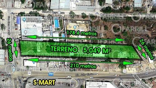 Terreno Comercial En Benito Juárez Centro, Juárez